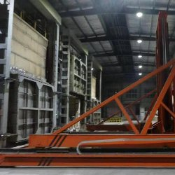 蓄热高锰钢淬火炉配取料机