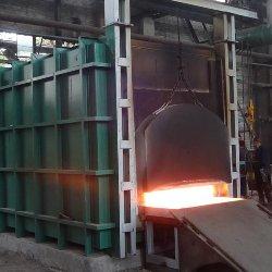 山东客户定制天然气蓄热式锻造加热炉